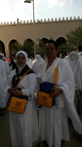 Mikot Ihram di Mesjid Dzulhulaifah