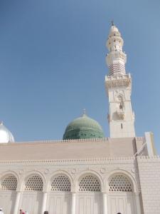 Kubah hijau Mesjid Nabawi