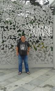 Gate Singapore Botanical Garden