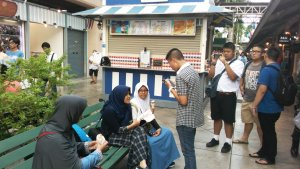 Pada belajar bahasa Indonesia