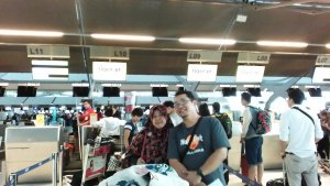 Check in Tiger Air