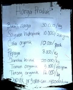 Harga Produk Sabisa Farm