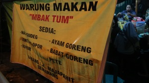 Warung Tenda Nasi Gudeg Mbak Tum