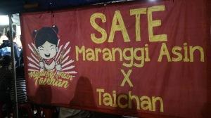 Sate Maranggi Asin X Taichan
